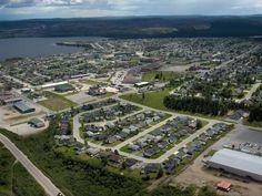 Labrador City, vue de la ville
