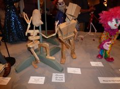 Construction Marionette and Corry by Kurt Hunter