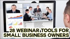 28 Webinar Services for Small Business Owners