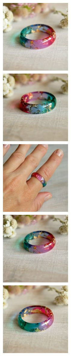 Wooden Jewelry, Resin Jewelry, Diy Jewelry, Jewlery, Handmade Jewelry, Fashion Jewelry, Jewelry Making, Jewelry Rings, Leather Accessories