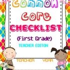 This book serves as a quick check list for the skills that your students need to master in terms of the National Common Core State Standards. Beginning Of School, First Day Of School, Back To School, School Stuff, Primary School, Kindergarten Classroom Management, Kindergarten Teachers, Kindergarten Posters, First Grade Classroom