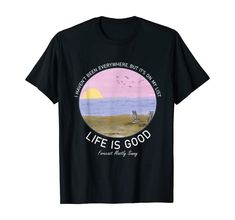 Amazon.com: Life Is Good Summer Beach Vacation Graphic T-Shirt: Clothing Christmas Store, Christmas Shopping, Beach T Shirts, Kids Boxing, Shirt Price, Beach Themes, Branded T Shirts, Summer Beach, Shirt Outfit