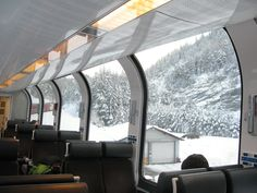 World's Top 30 Luxurious and Beautiful Trains That Will Make You Say Wawooo Places In Europe, Places To Travel, Places To Go, Saint Moritz, Bernina Express, Old Trains, Through The Window, I Want To Travel, Train Tracks