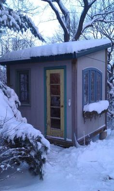 Guest Blog Post, Patricia Clark: The Writing Hut: A Dedicated Space