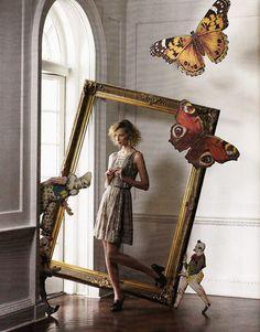 love the idea of a large fram