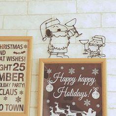 雑貨大好き♡/メリークリスマス/ナチュラル/カフェ風インテリアを目指して/サンタスヌーピー…などのインテリア実例 - 2016-12-24 22:55:03 | RoomClip(ルームクリップ)