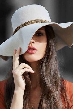 4b03251d0e73b 43 melhores imagens de Chapéus femininos