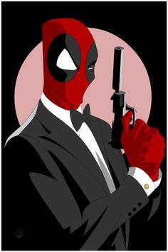 #Deadpool #Fan #Art. (Wilson...Wade Wilson) By: ShaunWard. [THANK U 4 PINNING!!]
