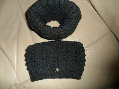 Boot Cuffs/Toppers.  Hand knitted.  Chunky by Craftsbylindyloo
