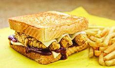 Honey BBQ Chicken Sanwich