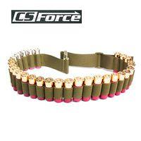 130*5CM Tactical 29 Rounds Shotgun Shell Belt 12/20GA Ammo Pouch Hunting Bullet Waist Belt Shell Holder Hunting Gun Accessories