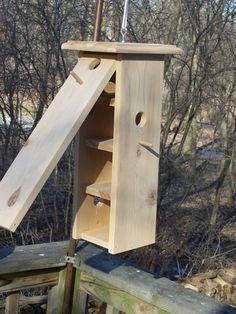 multi level bird house