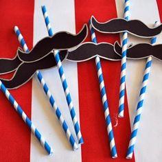 Moustache Printable Template
