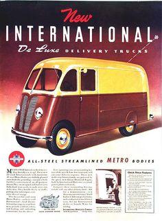 International De Luxe Delivery Truck