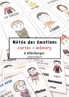 Ce n'est pas toujours facile ni toujours le bon moment d'expliquer aux enfants les émotions qu'ils ressentent. Et c'est encore moins facile pour eux d'en parler et même d'exprimer ce qu'ils vivent. Mettre des mots sur les émotions,