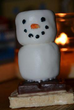 Childrens Soap - Santa's Smore Holiday Soap - Snowman Soap. $6.75, via Etsy.