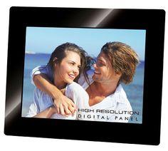 Prezzi e Sconti: #Vidpl2218/nero porta foto digit 8 led sd/usb  ad Euro 64.55 in #Trevi spa #Fotografia cornici digitali