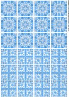 Free Printable Sheet Of 16 Tiles For Tea Bag Folding Just