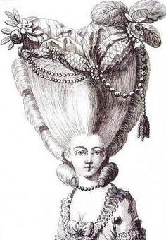 Coiffure Marie Antoinette