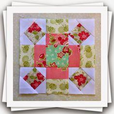Threadbare Creations: Chatelaine- Free BOW Sampler Quilt Block 27