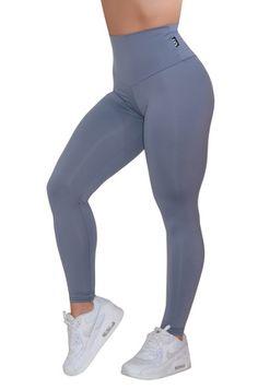 9b1f59ee6d52e Body Contouring High Waisted Leggings - Matte Grey High Waisted Workout  Pants, High Waisted Gym