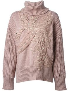Shop Antonio Marras embellished chunky knit sweater in  from the world's best independent boutiques at farfetch.com. Shop 400 boutiques at one address.