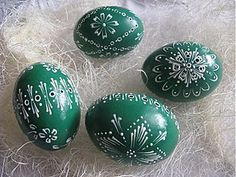 Dekorácie - Kraslica madeira zelena - 1053612