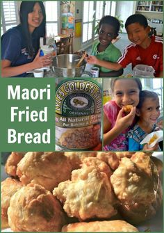 Maori Fried Bread Easy Recipe- International Bread Day at school? Or Int'l pot-luck.