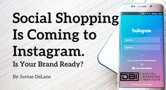 """First, it was Instagram Stories, and now another game changing feature is being rolled out on the app.  Instagram has released """"shoppable posts"""" to a select group of iOS users in the United States."""