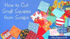 How to Cut Small Squ