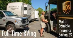 How do full-time RV travelers get mail, file taxes & get insurance? We've been RVing full-time since 2007 & have loads of tips for you.