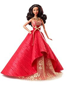 Barbie Collector 2014 Holiday African-American Doll - http://www.kidsdimension.com/barbie-collector-2014-holiday-african-american-doll/