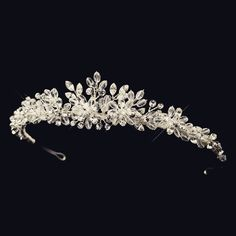 """""""The Holly"""" Sparkling Swarovski Crystal Headpiece"""