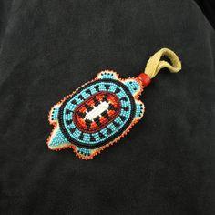 Black Beaded Turtle Amulet – Waci'-ci Trading Co.