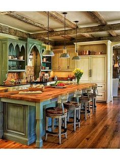 Country Kitchen - Found on Zillow Digs