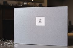 18 x 12 inch Queensberry Classic Flushmount Album in Buckram Silver