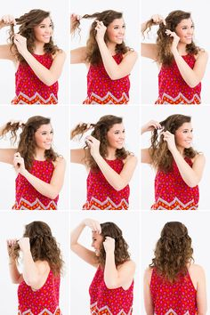 3 Hair Hacks for Curly-Haired Girls via Brit + Co.