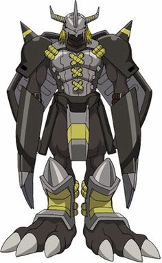 look at digimon | Is this the look you are going for? The armor looks like a good start ...