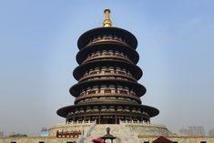 Tiantiang Pagoda - Luoyang Photo by: Charles Lin #luoyang #henan #china #amazinghenan #wherechinabegan #beautifulchina ww.visithenan.org