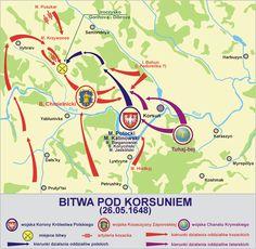 battle of Korsun 1648 plan2