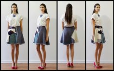 "SAN FABRIZZIO: LOOK BOOK ""SKIRTOLOGY"""