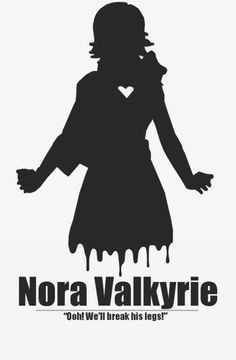 Nora Valkyrie in a nutshell. Team Rwby, Team Jnpr, Nora Rwby, Nora Valkyrie, Otaku, Red Like Roses, Rwby Red, Rwby Ships, Rwby Fanart