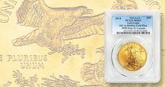 When a gold Eagle was struck on a gold Buffalo blank  #bullion #bullioncoins #coins #coincollecting #preciousmetals #bullioncoin #collectiblecoins #gold #goldcoin #goldcoins #goldbullion Bullion Coins, Gold Bullion, Gold Eagle Coins, Gold Coins, Gold American Eagle, Coin Collecting, Precious Metals, Buffalo, Mint