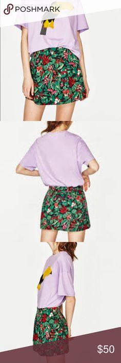 Zara flounce skirt Sz Small Zara Skirts Mini