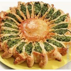 Girasole con ricotta e spinaci