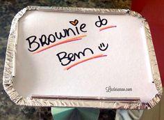 Vem conferir essa receita de brownie sem glúten, sem lactose e sem ovo no blog. Uma ótima opção para intolerantes à lactose, ao glúten e celíacos.