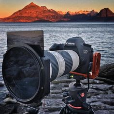 Sweet Canon 6D setup for Landscape photography 🌅 | Photo by @ben eatonwilliams