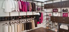 organizedliving.com -- great site for organizing your closet --> freedom rail...