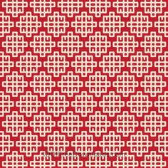 Free Vectors: Asian Red and White Geometric Pattern Textile Pattern Design, Textile Patterns, Abstract Pattern, Print Patterns, Stencil Patterns, Background Design Vector, Background Patterns, Chinese Background, Chinese Prints