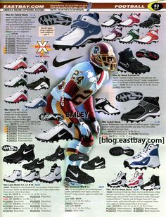 6bc94d07960190 Eastbay Memory Lane    Football 2000 Kicks